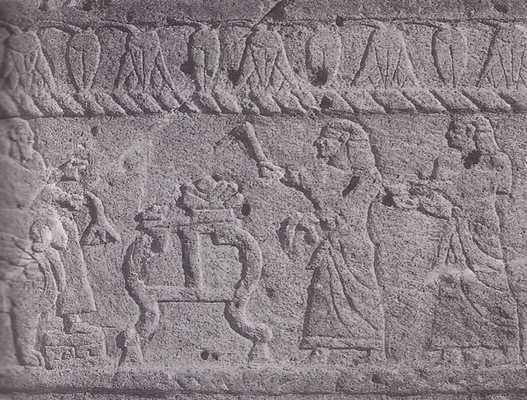 King Ahiram sarcophagus Phoenician image